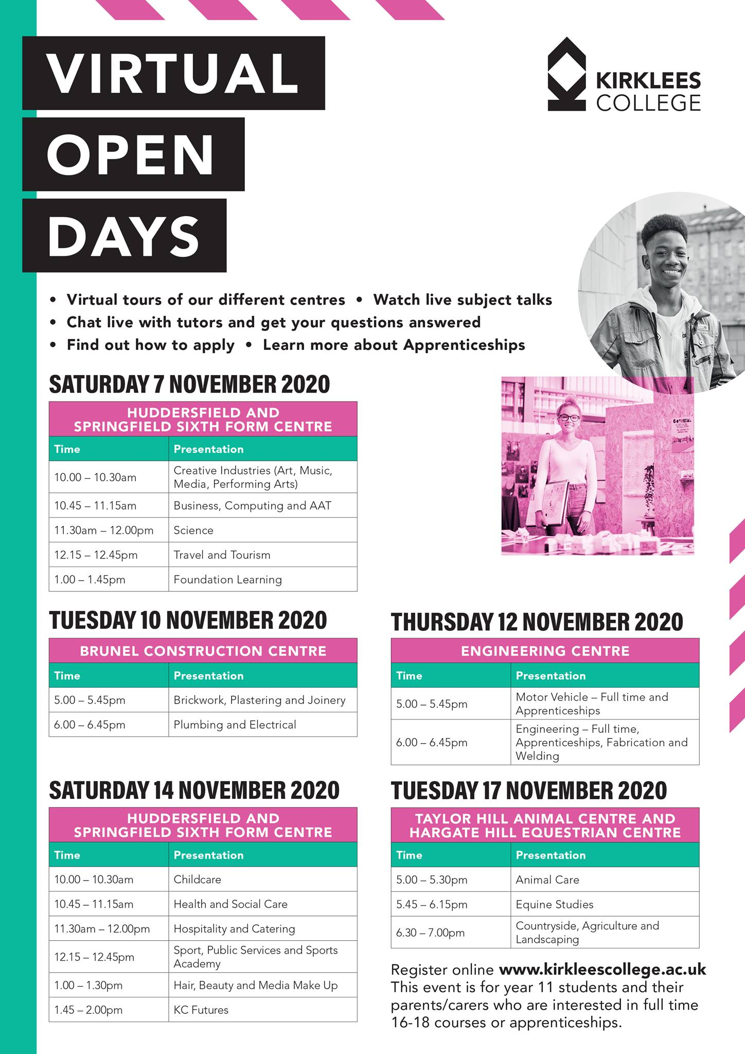 November-Virtual-Open-Days-Schedule